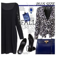 Fall Look: Plus Size Dresses