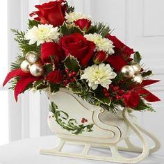 Christmas Flower Arrangement Ideas - Different Types Of Christmas Flower Arrangement | Bash Corner