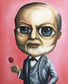 Sigmund Freud, Childhood, Painting, Fictional Characters, Art, Art Background, Infancy, Painting Art, Paintings