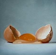 Lauren-Pretorius-Original-Art-Realism-Food-Oil-Painting-Cracked-Egg-3