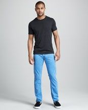Colored jeans for Men?  Thoughts?