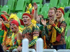 Eurobasket: in Ljubljana the colorful Lithuanian 'Torcida'