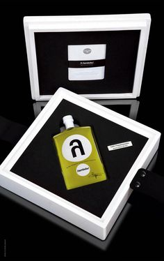 Bespoke Lambda Handcrafted OliveOil - The Dieline - The #1 Package Design Website -