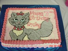 Cat Cake on Cake Central