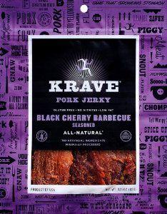 Amazon.com: Krave Pure Foods Pork Jerky Black Cherry Barbecue - 3.25 oz (92g): Health & Personal Care