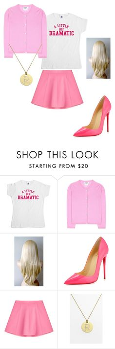 """""""Regina George"""" by planeta-janeta56903 on Polyvore featuring Jil Sander, Christian Louboutin, RED Valentino, Roberto Coin, women's clothing, women, female, woman, misses and juniors"""