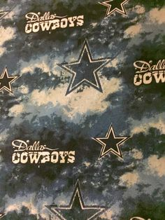 This crib sheet is made with mitered corners and elasticized edges for perfect fit.    Crib sheet is made of sturdy washable cotton. Crib sheet has the Dallas Cowboy colors, star, and says Dallas Cowboys all over, so there is no doubt who you are backing. I'll even make you a football shaped pillow to go with your crib sheet for a few dollars more.    Crib sheet is handmade, sturdy, from a smoke free home.    Toddler beds have a crib mattress, so this crib sheet can be used as a fitted…