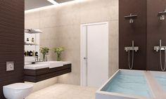 3D Bathroom Visualizations. Alcove, Bathtub, 3d, Bathroom, Architecture, Standing Bath, Washroom, Arquitetura, Bathtubs