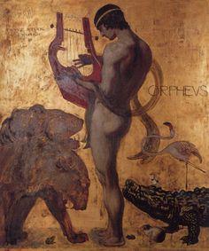 Franz von Stuck - Orpheus,1891