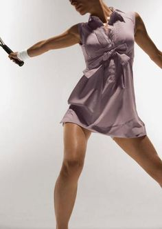 Goodbye tennis whites, hello lavender!