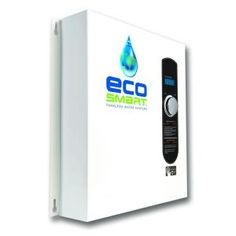 EcoSmart 24 kW Self Modulating 4.6 GPM Electric Tankless Water Heater-ECO 24 at The Home Depot