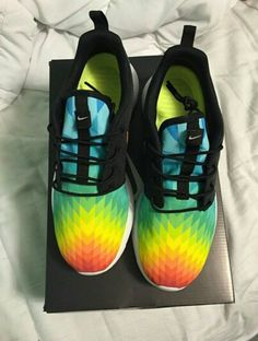 new arrival 4b770 63d3c Custom Roshe Nike Free Shoes, Nike Shoes For Sale, Running Shoes Nike, Nike