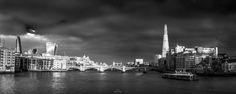 The Bridge - Pyramid to Cuboid by Dipesh Mehrotra on Millennium Bridge, London Travel, New York Skyline
