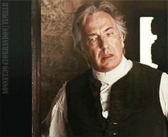 I ♥ Alan Rickman † — sonnet394tobrandon: Day 271: When They Lost All...