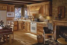 rustic kitchen ideas | Rustic Kitchen Ideas and Furniture Model | photos pictures images of ...