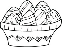 easter coloring pages   Free Easter Coloring Pages