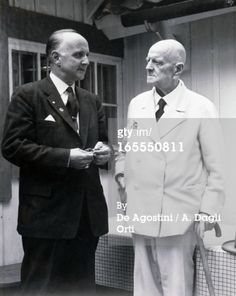 Stock Photo : Jean Sibelius, Finnish composer and violinist, 1956