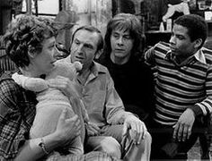 Rising Damp is a British television sitcom produced by Yorkshire Television for ITV, that first broadcasted in 1974 and ran until 1978 It starred Leonard Rossiter, Richard Beckinsale, Frances de la Tour, and Don Warrington. British Tv Comedies, British Comedy, British Actors, British History, Richard Beckinsale, Leonard Rossiter, Rising Damp, Vintage Television, Funny Films