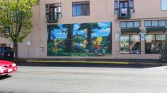 #ORGC #OrgSpringfield, home of the Simpsons.  Love this mural.