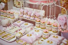 Shabby chic Birthday Party Ideas   Photo 7 of 27   Catch My Party