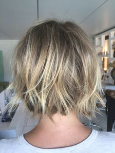 Textured short bob By me