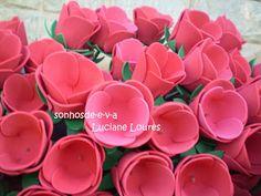 Sonhos de E.V.A.: Rosas Porta Bombom!