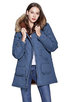 Shop a great selection of Freeprance Winter Coats Women Parka Jacket Coat Faux Fur Lining Hood Black. Find new offer and Similar products for Freeprance Winter Coats Women Parka Jacket Coat Faux Fur Lining Hood Black. Best Winter Jackets, Winter Coats Women, Anorak Jacket, Womens Windbreaker, Womens Parka, Raincoats For Women, Jackets For Women, Faux Fur Hooded Coat