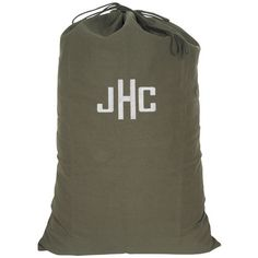 Make out of an old tent or large jacket, add drawstring & either paint monogrammed initials or sew on embroidered patched from your local craft store. Great graduation gift!!!