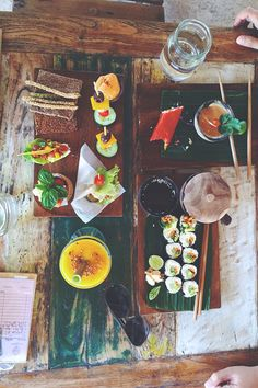 You can find Big Tree Farms products in Alchemy dishes and in their shop! Ubud, Bali   alchemy bali // vegan sushi, tasting platter, veggie spring rolls