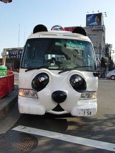 Asakusa Panda Shuttle Bus Tokyo Japan