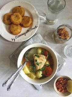 Sop Ayam dan Perkedel