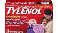 Tylenol Children's Pain + Fever Chewables Tablets 160 mg, Grape (Purple) Flavor 24 ea Childrens Tylenol, Dry Cough Causes, Chesty Cough, Kids Fever, Flu Remedies, Natural Remedies, Flu Symptoms, Flu Season, Natural Treatments