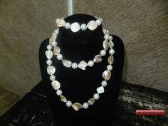 CherryCharm's Hyacinth Jewelry Set Design Hyacinth - Unique handcrafted Bracelets, Necklaces, Pearls and Gift Ideas Bracelet Set, Jewelry Sets, Pearl Necklace, Pearls, Unique, Gifts, Design, Fashion, Presents