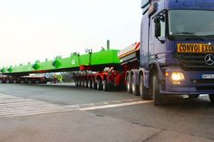 NICOLAS delivers K25 module to Capelle in France - First assignment is transporting a 140 t steel girder.