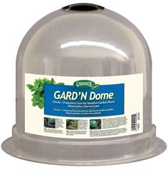 Dalen Gardeneer Solar Cloche Plant Dome