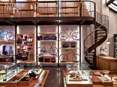 OUR MOST POPULAR ARTICLE OF 2014: SHINOLA SHOP DESIGNED BY ROCKWELL GROUP | #nydesignagenda #shimolashop