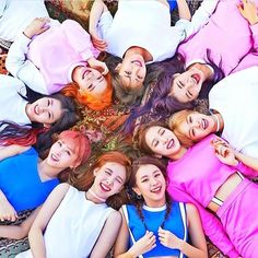 A pic that shows the members hair color  . . #Twice #Once #Nayeon #Jungyeon #Momo #Sana #Jihyo #Mina #Dahyun #Chaeyoung #Tzuyu #Queens #JYP #JYPent #JYPNation #KPop #QueenNayeon #QueenJungyeon #QueenMomo #QueenSana #QueenJihyo #QueenMina #QueenDahyun #QueenChaeyoung #QueenTzuyu #TT #TWICEcoaster