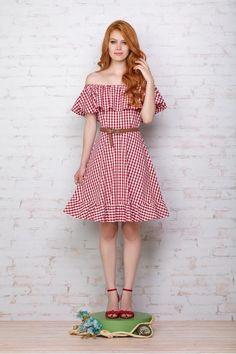 Vestido Vichy Brigitte