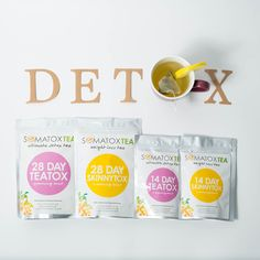 Somatox teas only include natural ingredients that are hand selected to include the best herbs