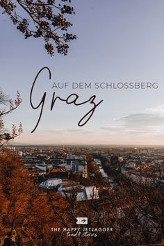 How to enjoy a wonderful sunset on top of the Schlossberg in Graz, Austria! Travel tips for Graz and the Schlossberg. Glass Lift, Travel Destinations, Travel Tips, Travel Companies, Beer Garden, Future Travel, Public Transport, Nice View, Old Town