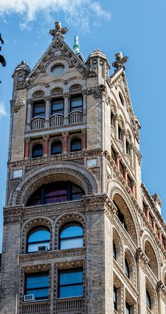 McIntyre Building - something for everyone in the tower. 1892, Robert H. Robertson, architect
