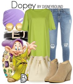 Get the look! Illustration by Matthew Simpson | Disney Bound