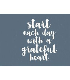 Kaisercraft Quote D-Ring Album-Start Each Day With A Grateful Heart