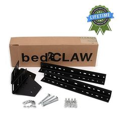 Bed Frame Rails, Steel Bed Frame, Bed Frames, Queen Size Headboard, Headboard And Footboard, Platform Bed Frame, Bed Styling, Cool Items, Claws