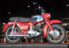 1964 Honda CA95 Benly Touring 150