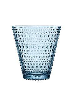 Kastehelmi 10 Oz Tumbler or Glass Set of 2 By Iittala light blue -- For more information, visit image link.