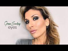 Green Smokey Eyes | Roula Stamatopoulou - YouTube Smokey Eye, Make Up, Cosmetics, Youtube, Eyes, Makeup, Beauty Makeup, Smoky Eye, Youtubers