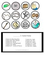 DIY Resurrection Egg Printable ~ Easter ~ Jesus ~ Activity ~ Craft