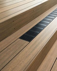 Our Caribbean ResortDeck Composite Decking board showing off its beautiful natural features on this residential project the project incorporated our Black QwickGrate to increase the ventilation as well as adding some great aesthetics Black Pergola, Deck With Pergola, Pergola Shade, Diy Pergola, Pergola Ideas, Hardwood Decking, Timber Deck, Composite Flooring, Composite Decking