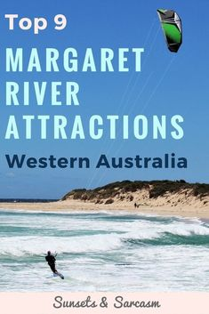 Discover the best things to do in Margaret River Australia. With forests and beaches such as Redgate, fine food and wineries, and some of the best Australian surf, this beautiful small town in Western Australia makes the perfect trip from Perth WA. #MargaretRiver #WesternAustralia #Australia #SunsetsandSarcasm